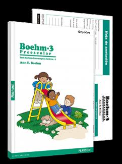 BOEHM-3 Preescolar, Test Boehm de Conceptos básicos