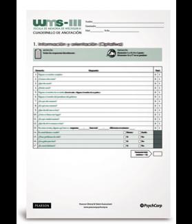 WMS III, Escala de Memoria de Wechsler -III