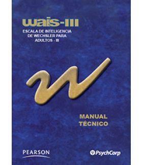WAIS-III Cuadernillo de Anotación