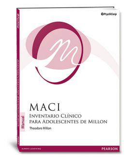 MACI Inventario clinico para adolescentes Millon