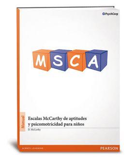 MSCA, Escalas McCarthy de aptitudes y psicomotricidad para niños